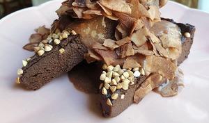 Le brownie à la patate douce healthie by Stéphanie Guillemette