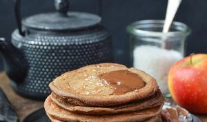 Pancakes chocolat et coco