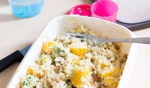Salade de quinoa à l'orange et à l'avocat