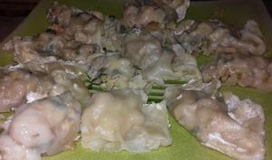 Raviolis chinois à la vapeur aux crevettes