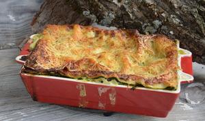 Lasagnes brousse - épinards