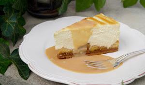 Cheesecake pomme caramel beurre salé