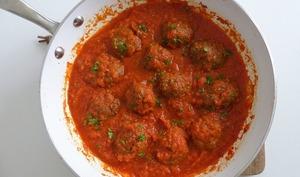 Boulettes de boeuf sauce tomate
