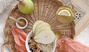 La recette du porridge healthie !