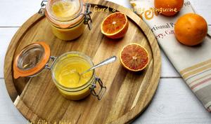 Curd à l'orange sanguine