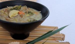 Soupe aux nouilles façon thaï