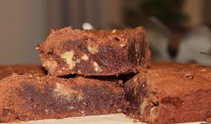 Brownies au chocolat très moelleux