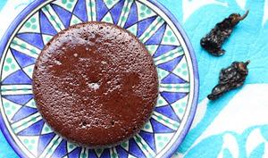 Fondant au chocolat au piment chipotle