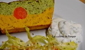 Terrine de brocolis et carottes