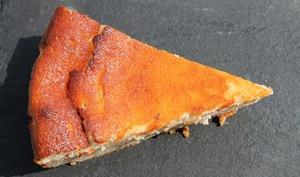 Gateau au fromage blanc parfumé au rhum arrangé combava