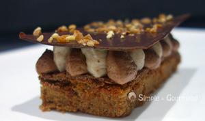 Gâteau châtaignes chocolat