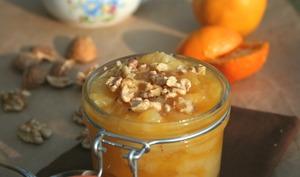 Compote poires, pommes et oranges aux épices
