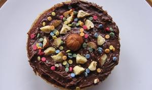 Muffin chocolat poire