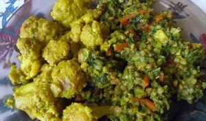 Curry crémeux vegan de chou-fleur