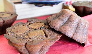 Muffins fondants chocolat et Twix