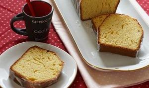 Cake au citron, lait concentré et huile d'olive