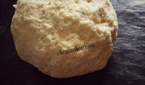 Pâte à pizza au fromage blanc 0 %