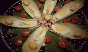 Salade composée aux pois gourmands