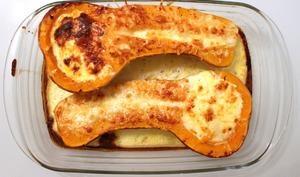 Butternut farcie saveur cancoillotte