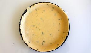 Pâte brisée légère au fromage blanc