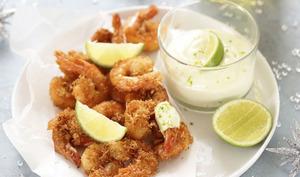 Crevettes croustillantes et mayonnaise express