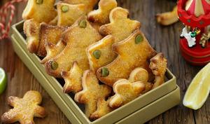 Biscuits aux agrumes et huile d'olive bio