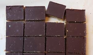 Carrés choco-caramel