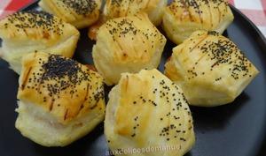 Feuilletés au Brie de Meaux et jambon