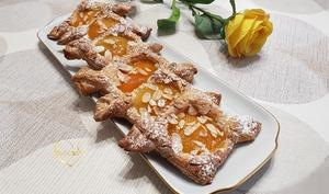 Tartelettes feuilletées à l'abricot