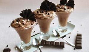 Mousse au chocolat végétale