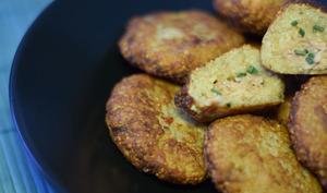 Papitas : croquettes de quinoa au thon