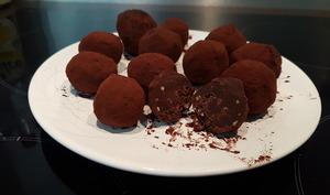Bouchées chocolat praliné