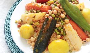Couscous algérien aux légumes