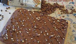 Brownie espresso et chocolat façon Starbucks