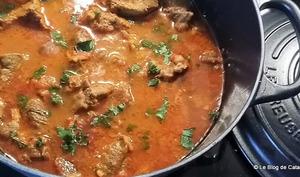 Curry de boeuf buhna - Bangladesh