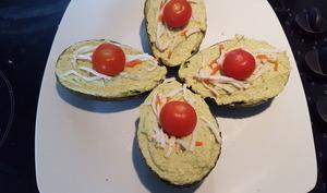 Avocats surimi