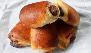 Pains briochés à la pâte à tartiner