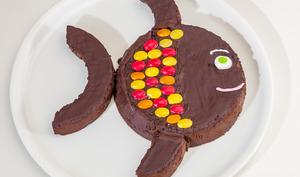 Poisson fondant au chocolat