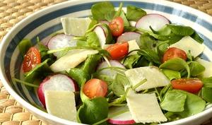Salade de pourpier à l'huile d'olive