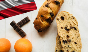Baguettes viennoises aux pépites de chocolat