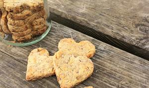 Biscuits à la carotte pour chien