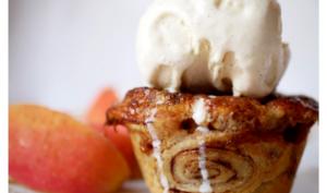 Mini apple pie et sa si jolie pâte roulée à la cannelle
