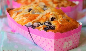 Cakes aux myrtilles et framboises