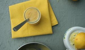 Lemon curd citron et huile de coco