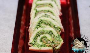 Sandwichs roulés au saumon fumé
