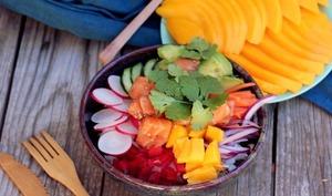 Le poke bowl un petit air hawaïen dans vos assiettes