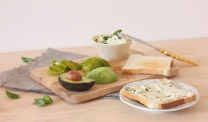 Le fromage à tartiner aux herbes