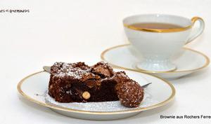 Brownies aux rochers Ferrero.