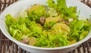 Salade de pommes de terre aux chipolatas