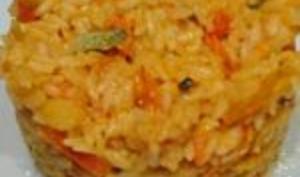 Riz et carottes aux épices
